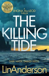 Book cover of The Killing Tide by Lin Anderson
