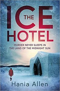 Book cover - The Ice Hotel by Hania Allen