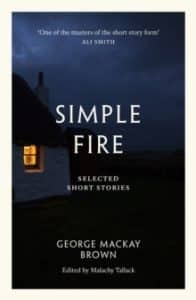 Book cover of Simple Fire by George Mackay Brown