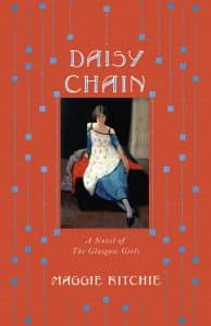 book cover for Daisy Chain by Maggie Ritchie