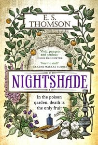 Nightshade by ES Thomson - book cover
