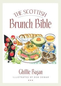 Book cover of The Scottish Brunch Bible by Ghillie Basan