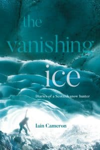 Book cover for The Vanishing Ice by Iain Cameron